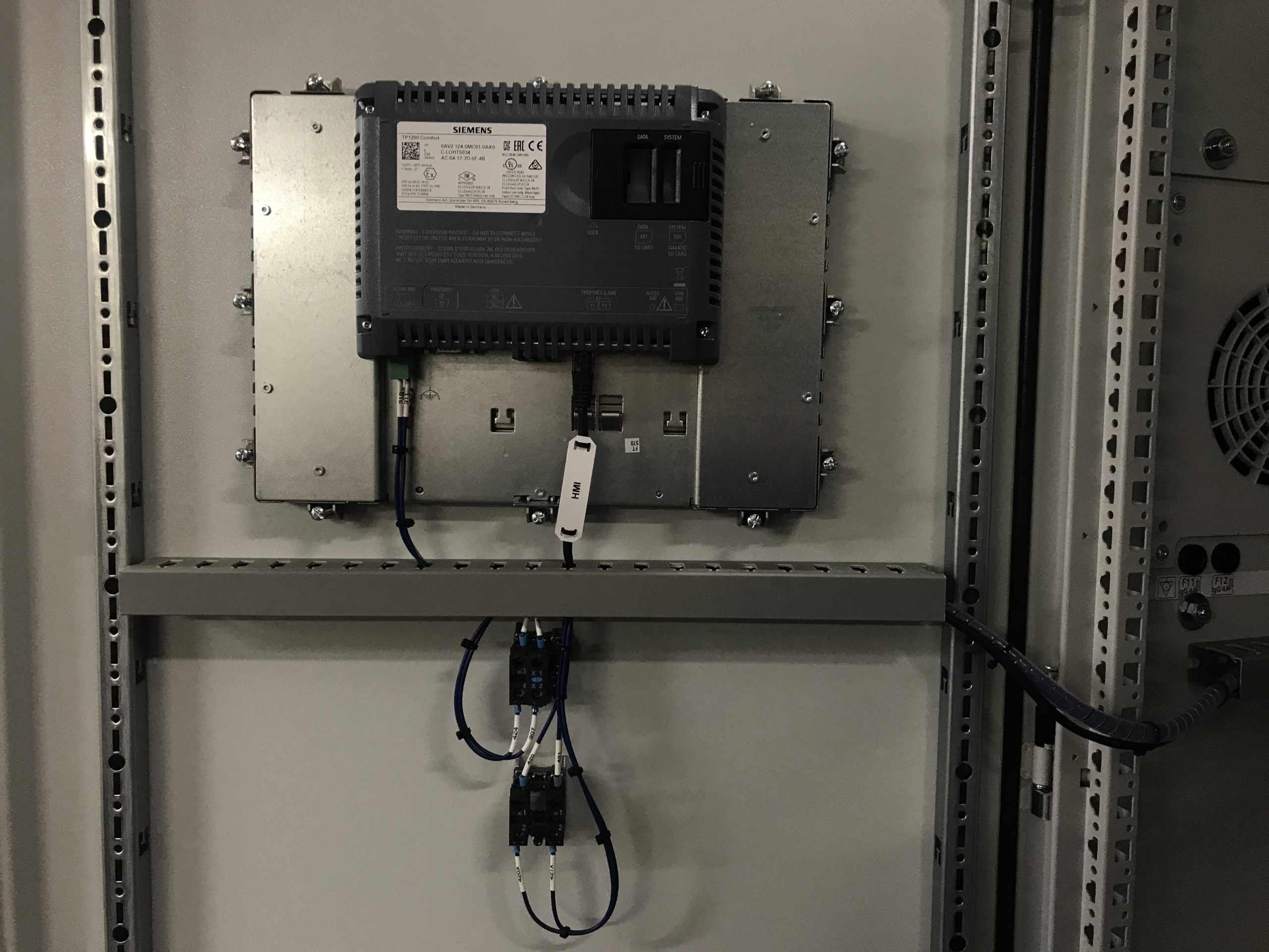 Heater-Oven Control Panel HMI